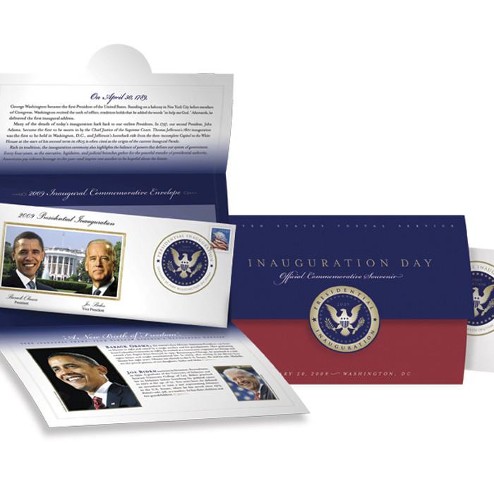U.S. Postal Service Inauguration Day Official Commemorative Souvenir