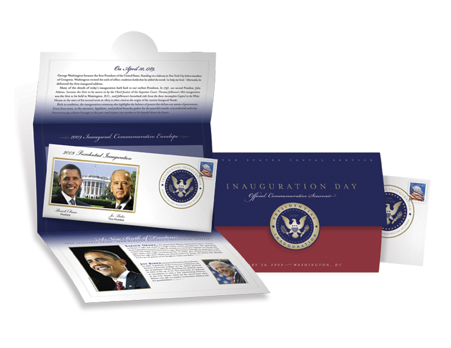 U.S. Postal Service Inauguration Day Official Commemorative Souvenir